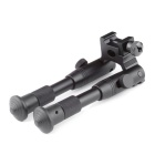 "Tactical Pica-tinny Mount Bipod 20 mm: n kiskoille-musta (6,2 ""~ 6,7\"")"