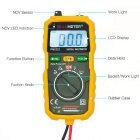Peakmeter PM8232 Mini Auto Ranging multimetro digitale w / NCV Tester