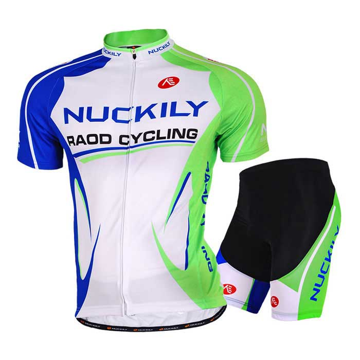 NUCKILY Mountain Bike Summer lyhythihainen Jersey + Short Housut Suit