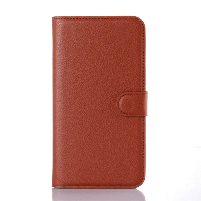 Lichee Pattern Protective Case for Samsung Galaxy S7 Plus - BrownLeather Cases<br>Form  ColorBrownModel001MaterialPUQuantity1 DX.PCM.Model.AttributeModel.UnitShade Of ColorBrownCompatible ModelsSamsung Galaxy S7 PlusFeaturesAnti-slip,Shock-proof,Easy-to-remove,Holder functionPacking List1*Case<br>