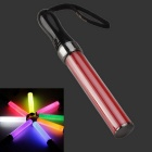 1W White Light Party Concert Glowing Lighting Stick - Black + Red