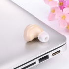 Wireless Invisible Bluetooth Mini Earphone Earbud Headset - Khaki