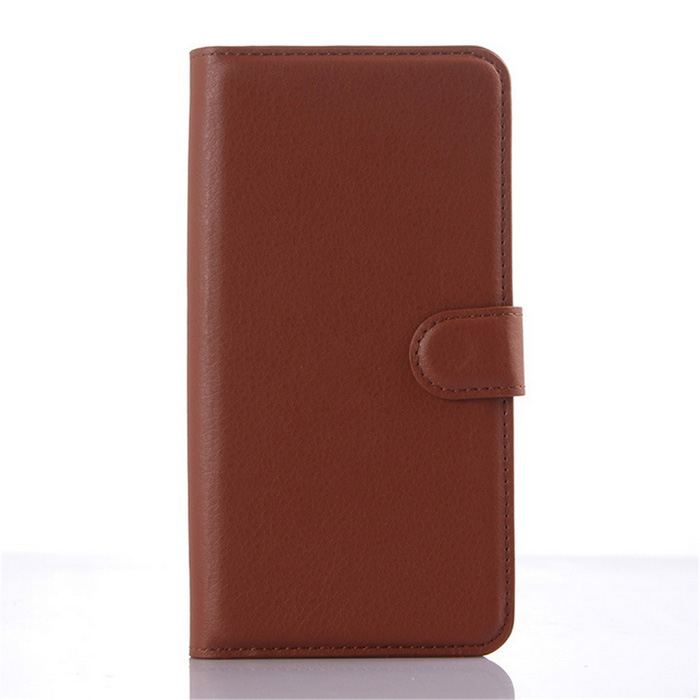 Lychee Pattern Flip-Open PU Case for ZTE BLADE S6 Plus - BrownLeather Cases<br>Form  ColorBrownModel001MaterialPUQuantity1 DX.PCM.Model.AttributeModel.UnitShade Of ColorBrownCompatible ModelsZTE BLADE S6 plusFeaturesAnti-slip,Dust-proof,Abrasion resistance,Easy-to-remove,Holder functionPacking List1*Case<br>