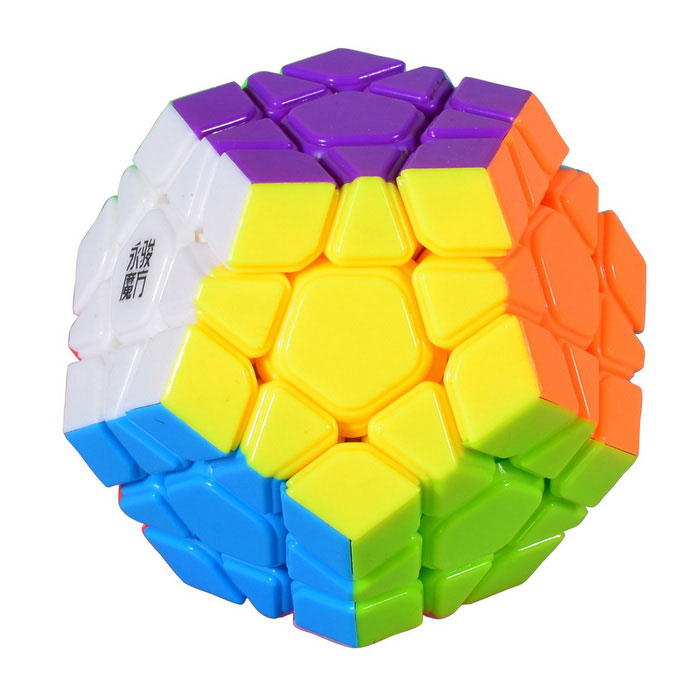 YJ YUHU Megaminx Magic IQ Cube - Multicolored