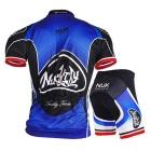 NUCKILY Mountain Bike Summer Kortermet Jersey + Short Pants Suit