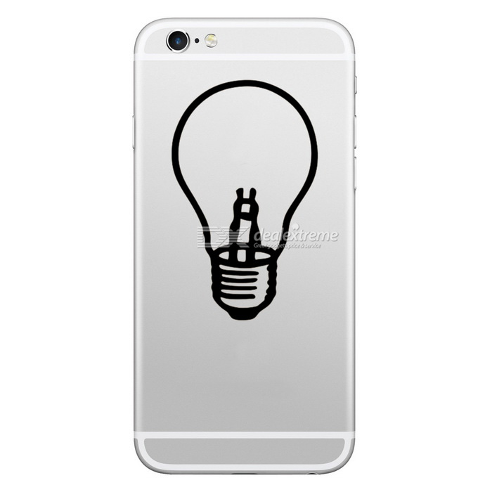 Sticker Hat-Prince Patterned Removable Skin pour IPHONE - Blanc + Noir
