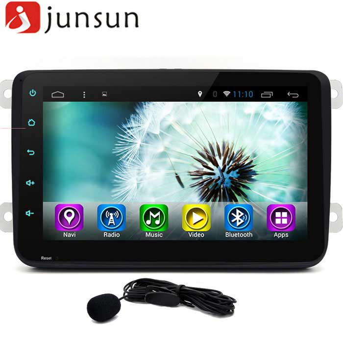 "Junsun 8 ""Full Touch 2-Din Car DVD Android navigazione GPS"