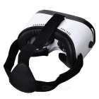 Virtual Reality 3D Glasses + Bluetooth Console - Svart + Vit