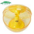 Apple en forme Cookie Jar Candy Storage Box Container Can - Jaune