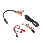 200mw FPV video audio multi-kanals lansering 5.8ghz AV-mottagare