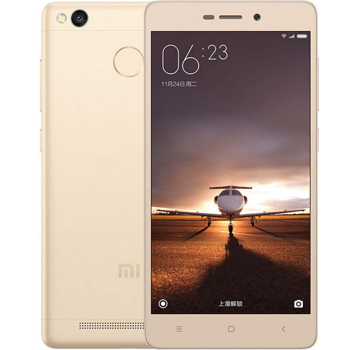 Xiaomi Redmi 3s Android 5.1 4G Phone w/ 2GB RAM, 16GB ROM - Gold