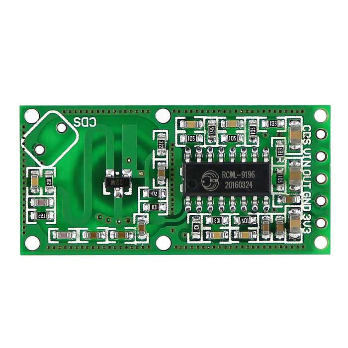 Buy Microwave Radar Induction Switch Human Motion Sensor Module with Litecoins with Free Shipping on Gipsybee.com