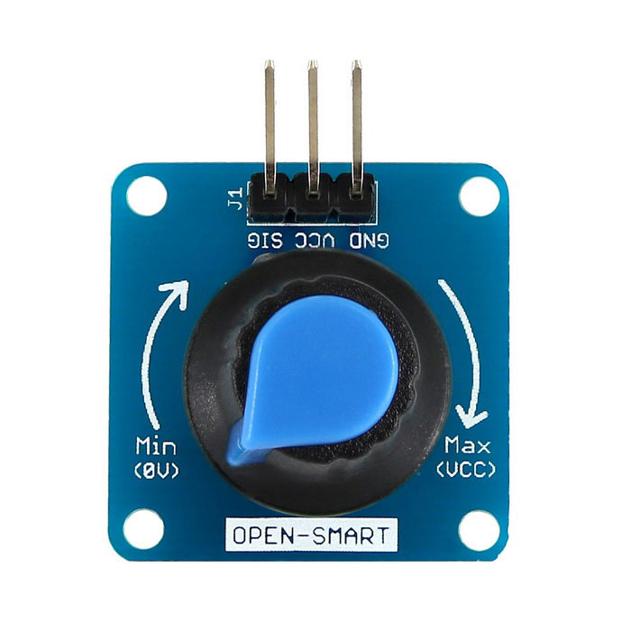 Rotary Angle Sensor Module Light / Volume Control for Arduino