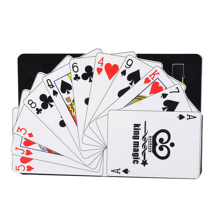 Magic Toys Magic Poker - Black + WhiteMagic Supplies<br>Form  ColorBlack + WhiteMaterialCardQuantity1 DX.PCM.Model.AttributeModel.UnitSuitable Age 8-11 years,12-15 years,Grown upsPacking List1 * Set of Pokers<br>