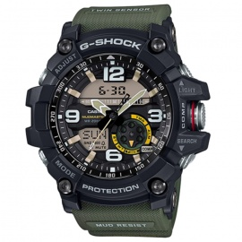 Casio G-Shock GG-1000-1A3 Mudmaster Mens Watch - Green & Black