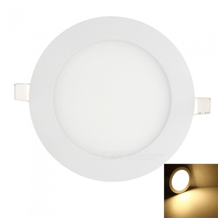 YouOKLight 12W 60-SMD Warm White Light LED Round Panel Light LampCeiling Light<br>Form  ColorWhiteColor BINWarm WhiteModelYK2025Quantity1 DX.PCM.Model.AttributeModel.UnitMaterialAluminumPower12WRated VoltageAC 85-265 DX.PCM.Model.AttributeModel.UnitChip BrandOthersEmitter TypeOthers,2835 SMD LEDTotal Emitters60Actual Lumens1100 DX.PCM.Model.AttributeModel.UnitColor Temperature3000KDimmableNoBeam Angle180 DX.PCM.Model.AttributeModel.UnitExternal Diameter14.5 DX.PCM.Model.AttributeModel.UnitHole diameter12.5 DX.PCM.Model.AttributeModel.UnitHeight2.5 DX.PCM.Model.AttributeModel.UnitPacking List1 * LED Downlight1 * LED Driver<br>