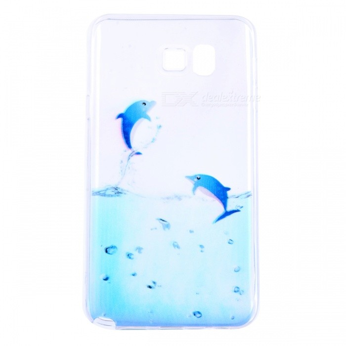 SZKINSTON TPU Protective Case Cover for Samsung Galaxy Note 5 - Blue