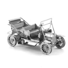 3D Three-Dimensional DIY Assembly Model Ford car - Silver