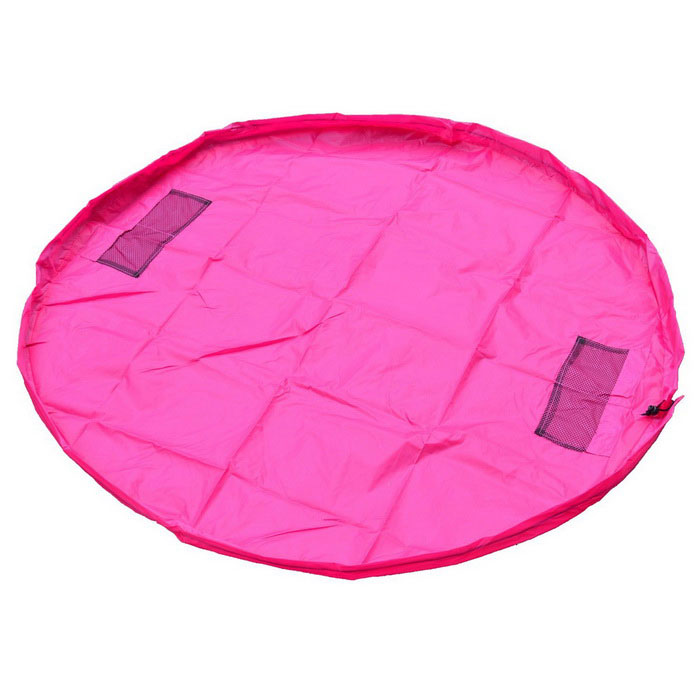1.5m Portable Kids Toys Storage Organizer Bag Play Mat Rug Box - PinkStorage Box &amp; Bag <br>Form  ColorPinkShade Of ColorPinkMaterialPolyester fiberQuantity1 DX.PCM.Model.AttributeModel.UnitPacking List1 * Storage bag<br>