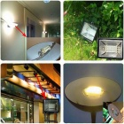 JRLED R7S 15W LED-lampa lampa Warm White 232-3014 SMD (AC 220 ~ 240V 2st)