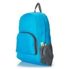 Outdoor Folding Travelling Mountaineering Bag Backpack - Blue