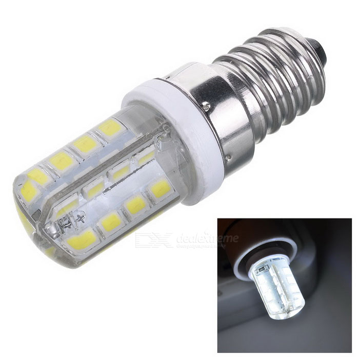JRLED E14 3W Bluish White Light 32-2835 SMD LED Corn Bulb (AC 220V)