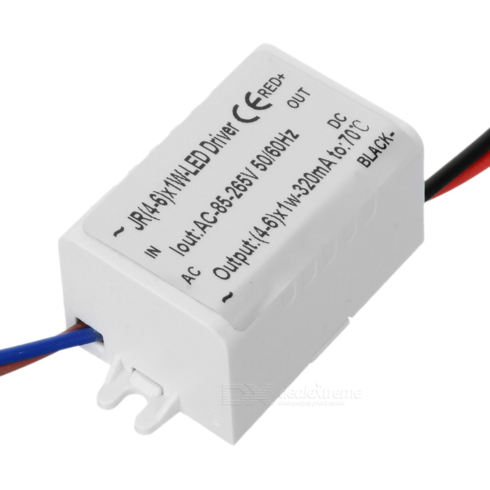 320mA 6W Power Constant Current Source LED Driver (85~265V)