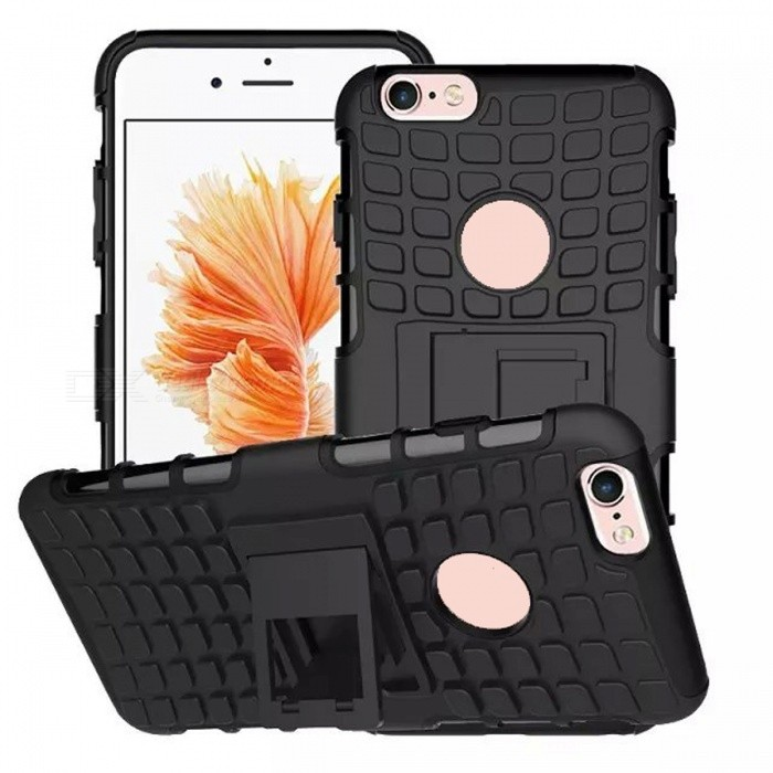 2-in-1 Tire Pattern TPU + PC Full Body Case for IPHONE 6S / 6