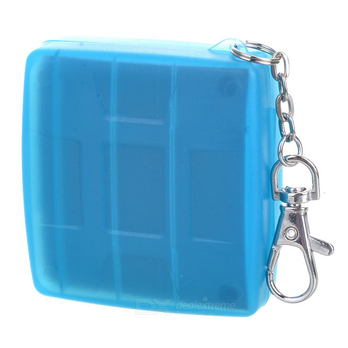 Buy JJC MC-6B Camera Memory Flash SD + CF Card Storage Case - Light Blue with Litecoins with Free Shipping on Gipsybee.com