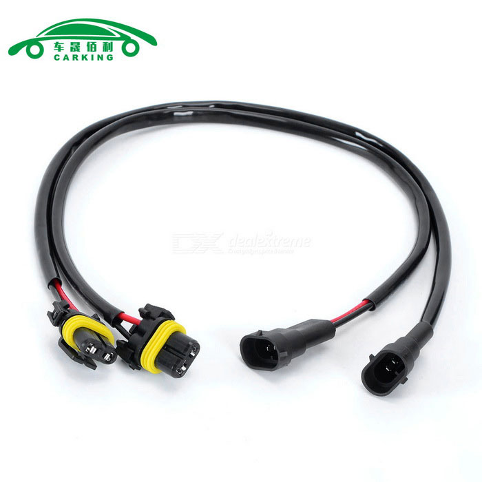 H11 Wire Harness for Xenon HID Kit Headlight Foglight (56cm, 2PCS) H Hid Wire Harness on