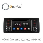 Ownice HD 1024 * 600 Android 4.4 Quad-Core Car DVD pro BMW řady 5 E39