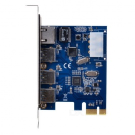 PCIE-to-USB-30-Gigabit-Ethernet-Adapter-Card-Blue-2b-Silver