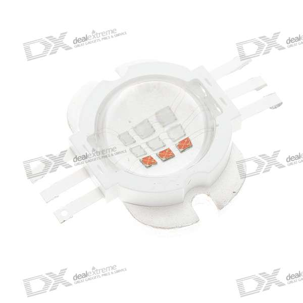 10W 500lm Multi-Color RGB LED Metal Plate Module (60~70 degree)