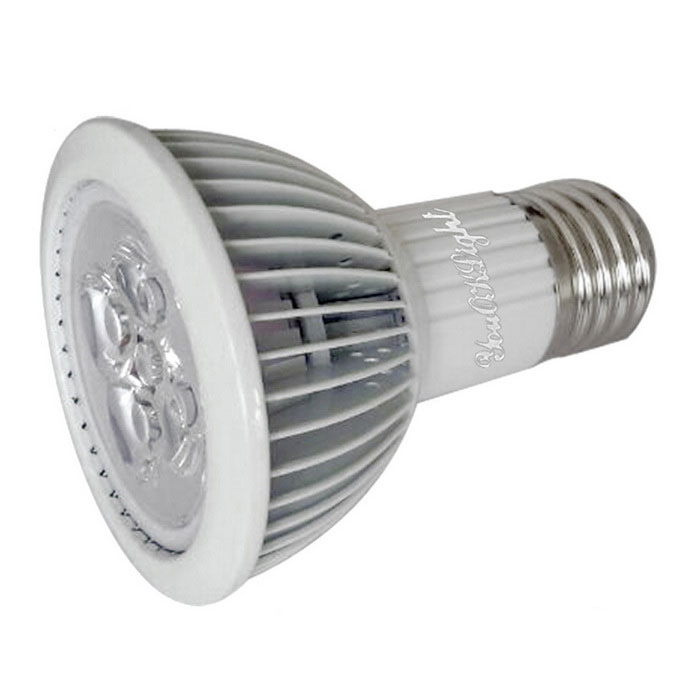 youoklight YK6012 E27 5W 5-LED IP55 växt ljusna (AC 85 ~ 265V)