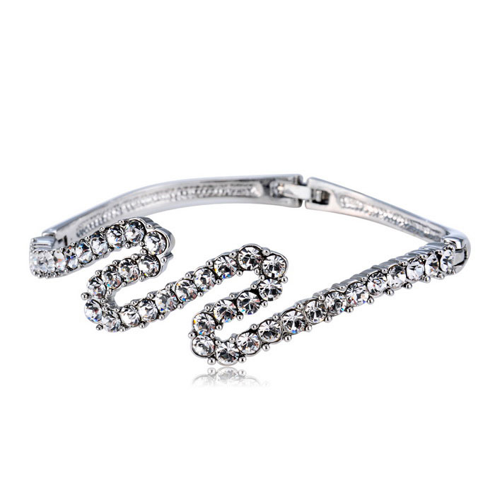 Xinguang Women's Europe Style Fashion Twist Bracelet - Silver
