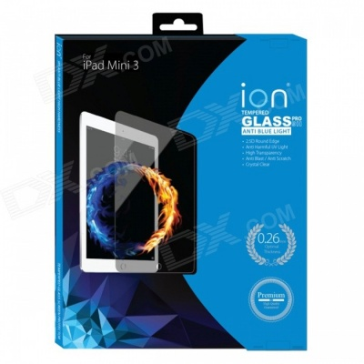 iON Anti Blue Light Tempered Glass Screen Protector - iPad Mini 1/2/3