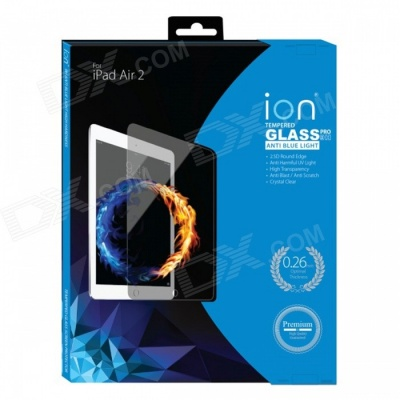 iON Anti Blue Light Tempered Glass Screen Protector for iPad Air 1/2