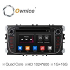 Ownice C300 Android 4.4 HD 1024 * 600 lettore DVD dell'automobile per Ford Focus