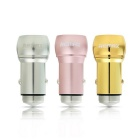 REMAX RCC-205 Dual-USB Car Charger w/ 2.4A Output, Safety Hammer -Pink