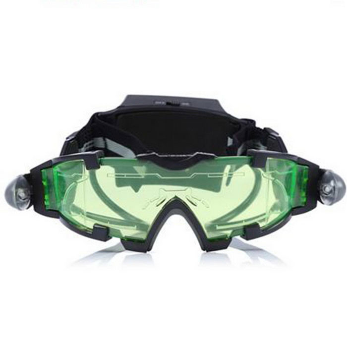 Night Vision Glasses Firecrackers Protective Glasses - Black + Green