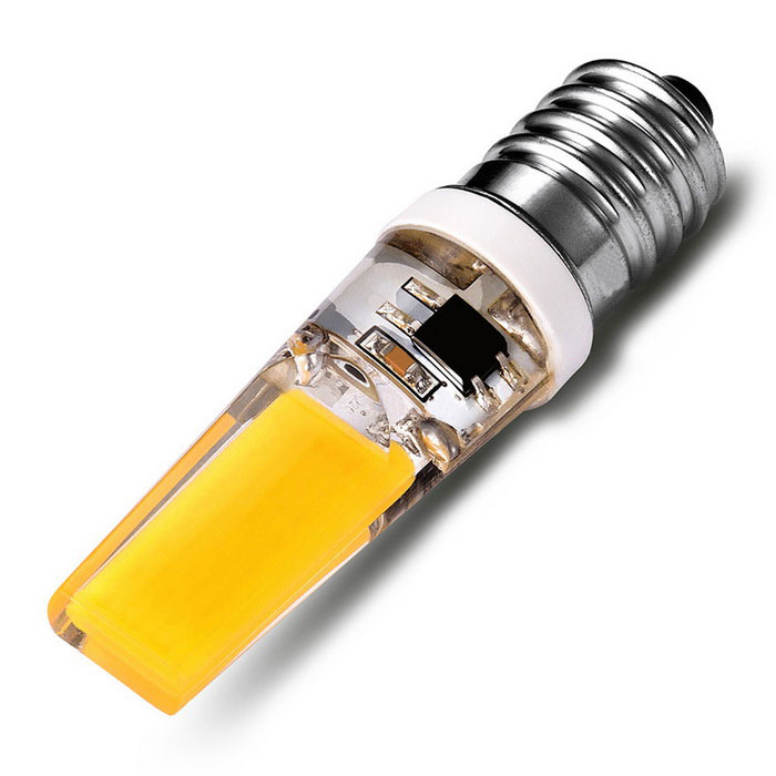 Buy E14 3W 2-LED Lamp Warm White 3500K 200lm (AC 220V) with Litecoins with Free Shipping on Gipsybee.com