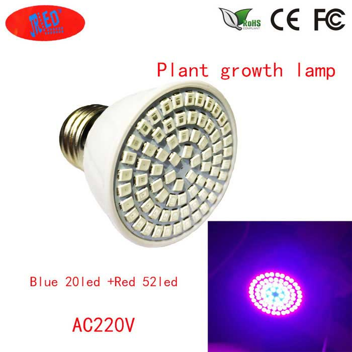 E27 3W 200lm LED Plant Growth Light Red + Blue Light (AC 220-240V)
