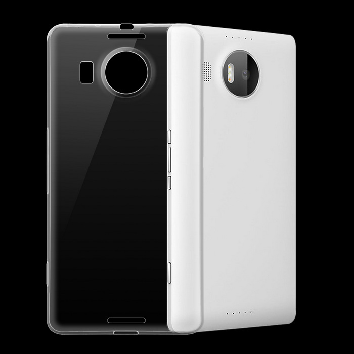 Protective TPU Back Case for Microsoft Lumia 950 XL - Transparent