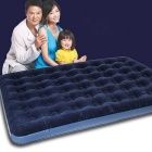 Outdoor Inflatable Air Cushion Bed for 2 Persons - Blue