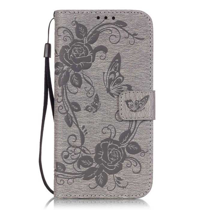 BLCR PU Leather + TPU Case for Samsung Galaxy S7 Edge - GrayLeather Cases<br>Form  ColorGreyModelN/AMaterialPU + TPUQuantity1 DX.PCM.Model.AttributeModel.UnitShade Of ColorGrayCompatible ModelsSamsung Galaxy S7 EdgeFeaturesAnti-slip,Shock-proof,Abrasion resistance,Easy-to-remove,Holder functionPacking List1 * Case1 * Strap(17cm)<br>