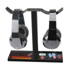 MOCREO Akryl Universal Double Hodetelefon Stand Gadget Holder