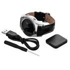"S8 1,3 ""Bluetooth V4.0 Smart Watch Android / IOS-laitteille - hopea"