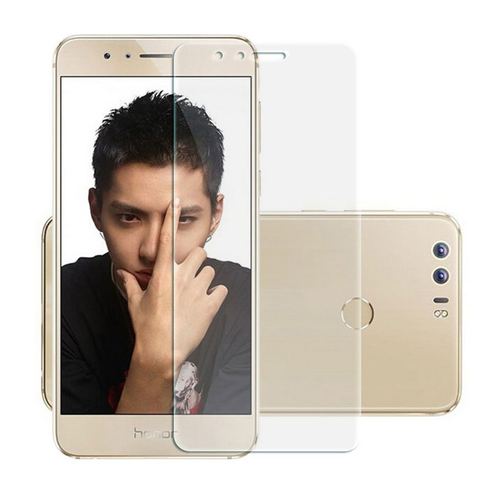 9H Tempered Glass Screen Guard Film for Huawei Honner 8 - Transparent