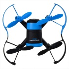 Fotocamera JXD 512 4CH a 6 assi Mini Quadcopter w / 0.3MP - Nero + blu