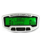 SunDing SD-558C 27 Functions Wireless Bike Computer - Silver